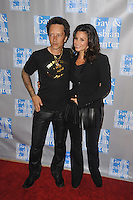L.A. Gay & Lesbian Center's 'An Evening With Women' at The Beverly Hilton Hotel on May 19, 2012 in Beverly Hills, California. © mpi35/MediaPunch Inc. Pictured- Billy Morrison and Gina Gershon