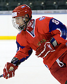 Alexandr Burmistrov (Russia - 8) - Russia defeated Finland 4-0 at the Urban Plains Center in Fargo, North Dakota, on Friday, April 17, 2009, in their semi-final match during the 2009 World Under 18 Championship.