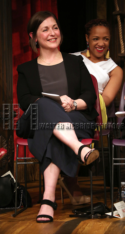 Mandy Greenfield on stage at the The Lilly Awards  at Playwrights Horizons on May 22, 2017 in New York City.