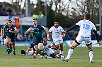 17th November 2019; The Sportsground, Galway, Connacht, Ireland; European Rugby Champions Cup, Connacht versus Montpellier; Caolin Blade on an attacking run for Connacht - Editorial Use