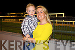 Jamie Mangan and Alison Roche, Tralee enjoying a night at the Dogs at the Kingdom Greyhound Stadium on Saturday