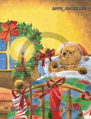 Alfredo, CHRISTMAS ANIMALS, WEIHNACHTEN TIERE, NAVIDAD ANIMALES, paintings+++++,BRTOGBCH7390,#xa#