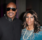 Stevie Wonder & Aretha Franklin.attends the BET Honors 2012 Pre-Honors dinner at the Corcoran Gallery of Art on January 13, 2012 in Washington, DC.