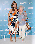Eva Mendes & mom at Variety's 2nd Annual Power of Women Luncheon held at The Beverly Hills Hotel in Beverly Hills, California on September 30,2010                                                                               © 2010 Hollywood Press Agency