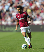 West Ham United's Felipe Anderson<br /> <br /> Photographer Rob Newell/CameraSport<br /> <br /> The Premier League - West Ham United v Wolverhampton Wanderers - Saturday 1st September 2018 - London Stadium - London<br /> <br /> World Copyright © 2019 CameraSport. All rights reserved. 43 Linden Ave. Countesthorpe. Leicester. England. LE8 5PG - Tel: +44 (0) 116 277 4147 - admin@camerasport.com - www.camerasport.com