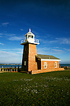 California: Santa Cruz.  Mark Abbott Lighthouse..Photo: cacruz105..Photo copyright Lee Foster, 510/549-2202, lee@fostertravel.com, www.fostertravel.com..Photo #: cacruz105