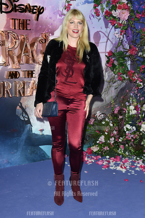 """LONDON, UK. November 01, 2018: Meredith Ostrum at the European premiere of """"The Nutcracker and the Four Realms"""" at the Vue Westfield, White City, London.<br /> Picture: Steve Vas/Featureflash"""