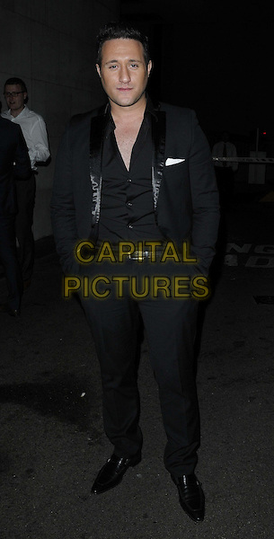 Antony Costa.The British Inspiration Awards, InterContinental Hotel, Park Lane, London, England..May 24th, 2012.full length black suit hands in pockets.CAP/CAN.©Can Nguyen/Capital Pictures.