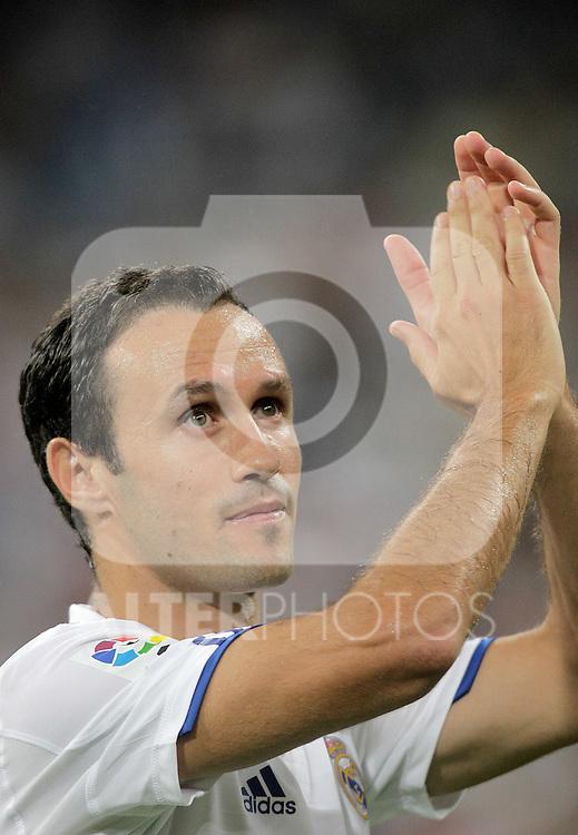 Real Madrid's Ricardo Carvalho during official presentation. August 24, 2010. (ALTERPHOTOS/Alvaro Hernandez)
