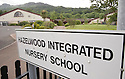 Hazelwood Integrated Primary School, were a peaceline is due to be built inside the school grounds, keeping rival youths from the Whitewell Road area away from a small mixed housing estate of Old Throne Park. Photo/Paul McErlane.