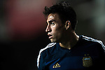 Nicolas Gaitan of Argentina looks on during the HKFA Centennial Celebration Match between Hong Kong vs Argentina at the Hong Kong Stadium on 14th October 2014 in Hong Kong, China. Photo by Aitor Alcalde / Power Sport Images