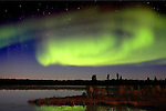 CANADA: NORTHERN LIGHTS, YELLOWKNIFE, NORTHWEST TERRITIRIES
