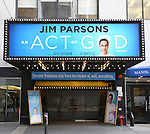'An Act of God' - Theatre Marquee