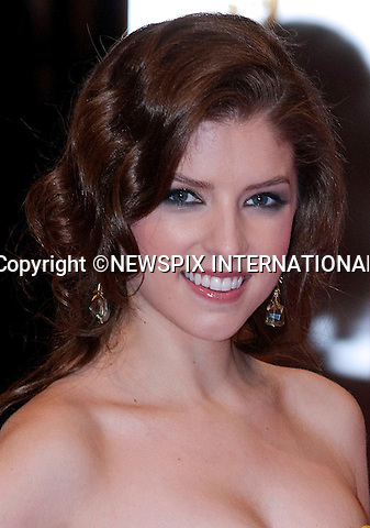 "ANNA KENDRICK.at the Annual British Academy Film Awards, Royal Opera House, London_21st February, 2010..Mandatory Photo Credit: ©Dias/NEWSPIX INTERNATIONAL..**ALL FEES PAYABLE TO: ""NEWSPIX INTERNATIONAL""**..PHOTO CREDIT MANDATORY!!: NEWSPIX INTERNATIONAL(Failure to credit will incur a surcharge of 100% of reproduction fees)..IMMEDIATE CONFIRMATION OF USAGE REQUIRED:.Newspix International, 31 Chinnery Hill, Bishop's Stortford, ENGLAND CM23 3PS.Tel:+441279 324672  ; Fax: +441279656877.Mobile:  0777568 1153.e-mail: info@newspixinternational.co.uk"