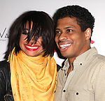 Chester Gregory with Raven-Symone as she celebrates her Broadway Debut in 'Sister Act' at Ava Lounge in the Dream Hotel in New York City on 3/27/2012.