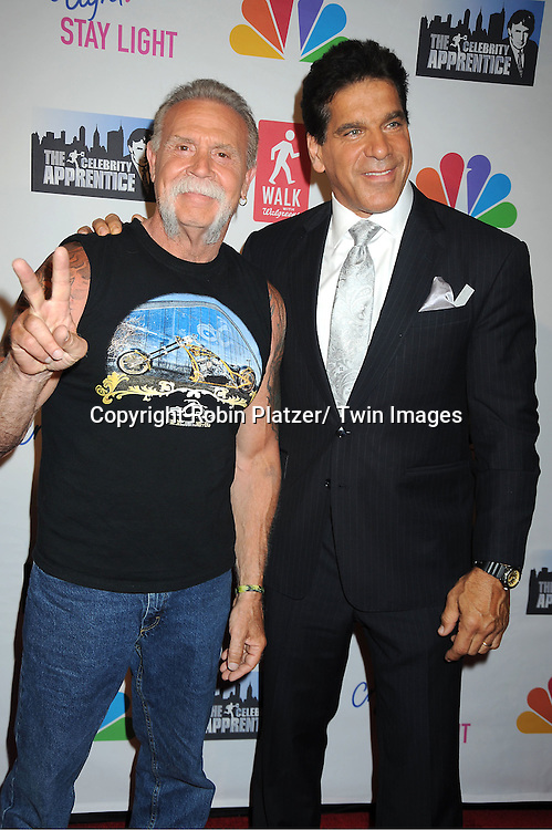 Paul Teutul Sr. and Lou Ferrigno attend the 'Celebrity ...