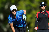 Lizzie Neale of Tasman. Day One of the Toro Interprovincial Women's Championship, Sherwood Golf Club, Wjangarei,  New Zealand. Monday 4 December 2017. Photo: Simon Watts/www.bwmedia.co.nz