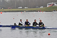 223 EveshamRC J17A.4+..Marlow Regatta Committee Thames Valley Trial Head. 1900m at Dorney Lake/Eton College Rowing Centre, Dorney, Buckinghamshire. Sunday 29 January 2012. Run over three divisions.