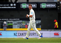 Matt Henry in action during day four of the international cricket test between the NZ Black Caps and the West Indies at the Hawkins Basin Reserve in Wellington, New Zealand on Monday, 4 December 2017. Photo: Dave Lintott / lintottphoto.co.nz