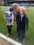 Ally McCoist with son Arran