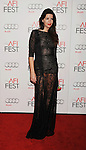 HOLLYWOOD, CA - NOVEMBER 03: Anabela Moreira  arrives at the 2012 AFI FEST - 'Holy Motors' Gala Screening at Grauman's Chinese Theatre on November 3, 2012 in Hollywood,