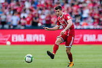 Bayern Munich Forward Robert Lewandowski in action during the 2017 International Champions Cup China  match between FC Bayern and AC Milan at Universiade Sports Centre Stadium on July 22, 2017 in Shenzhen, China. Photo by Marcio Rodrigo Machado / Power Sport Images