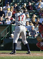 May 30, 2004:  Danny Klassen of the Toledo Mudhens during a game at Frontier Field in Rochester, NY.  The Mudhens are the Triple-A International League affiliate of the Detroit Tigers.  Photo By Mike Janes/Four Seam Images