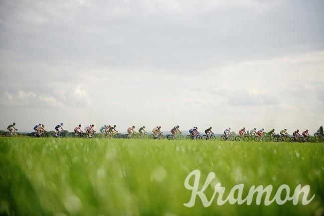 stretched peloton<br /> <br /> stage 1<br /> Euro Metropole Tour 2014 (former Franco-Belge)