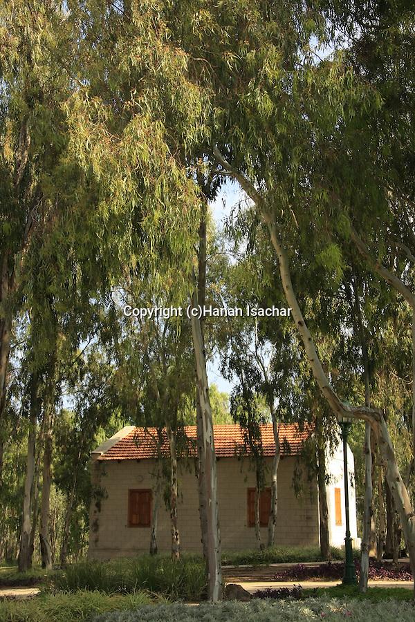 Israel, Sharon region, the renovated Heftziba Farm by Hadera River