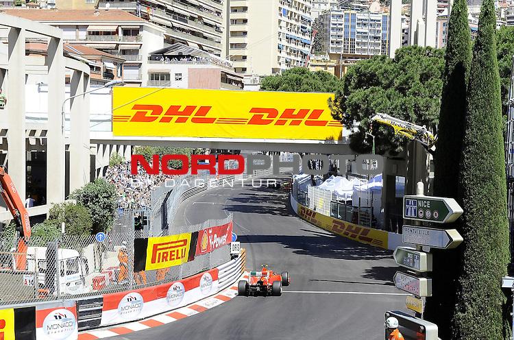 28.05.2011, Circuit de Monaco, Monte Carlo, MCO, Großer Preis von Monaco, Monte Carlo, RACE 06, im Bild  DHL Branding - Felipe Massa (BRA), Scuderia Ferrari    Foto © nph / Dieter Mathis