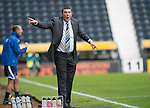 Kilmarnock v St Johnstone...11.08.13 SPFL<br /> Saints boss Tommy Wright gives instructions<br /> Picture by Graeme Hart.<br /> Copyright Perthshire Picture Agency<br /> Tel: 01738 623350  Mobile: 07990 594431