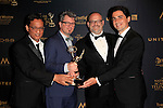 LOS ANGELES - APR 29: Winners, Peg + Cat at The 43rd Daytime Creative Arts Emmy Awards, Westin Bonaventure Hotel on April 29, 2016 in Los Angeles, CA