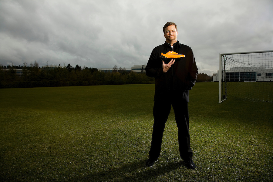 Mark Parker CEO of Nike, photographed at Nike Campus in Beaverton Oregon