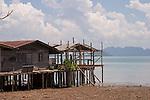 Traditional beach house. Koh Lanta, Thailand