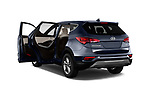 Car images close up view of a 2018 Hyundai Santa Fe Sport Base 5 Door SUV doors