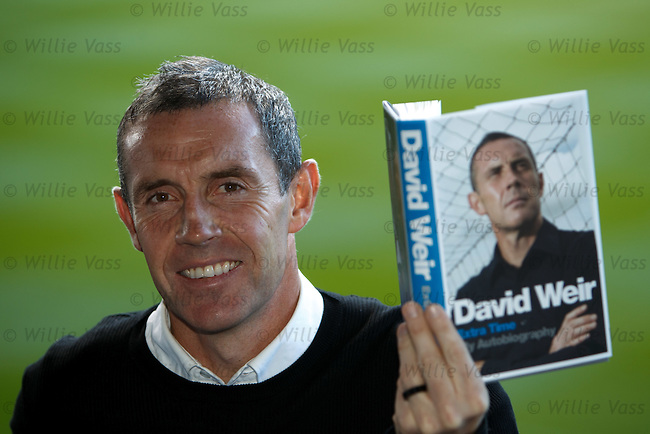 David Weir at Ibrox as he launches his autobiography