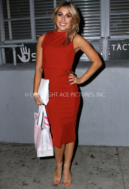 ACEPIXS.COM<br /> <br /> February 19 2015, LA<br /> <br /> Emma Slater arriving at the OK! Magazine Pre-Oscar Event at The Argyle on February 19, 2015 in Hollywood, California<br /> <br /> By Line: Nancy Rivera/ACE Pictures<br /> <br /> ACE Pictures, Inc.<br /> www.acepixs.com<br /> Email: info@acepixs.com<br /> Tel: 646 769 0430