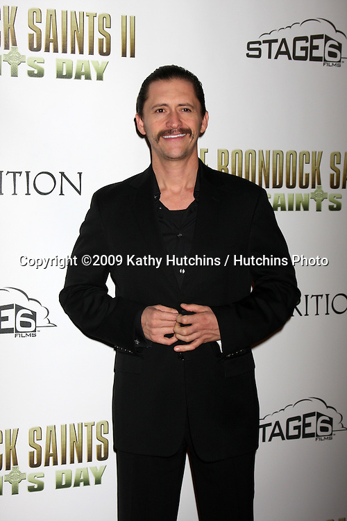"Clifton Collins Jr.arriving at ""The Boondock Saints II:  All Saint's Day"" LA Premiere.ArcLight Theaters, Hollywood.Los Angeles,   CA.October 28, 2009.©2009 Kathy Hutchins / Hutchins Photo."