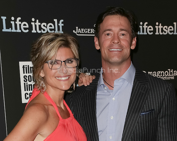 New York, NY - June 23 : Ashleigh Banfield and Christopher Heben attend the New York Premiere of Life Itself<br /> held at the Film Society of Lincoln Center Walter Reade Theater<br /> on June 23, 2014 in New York City. Photo by Brent N. Clarke / MediaPunch