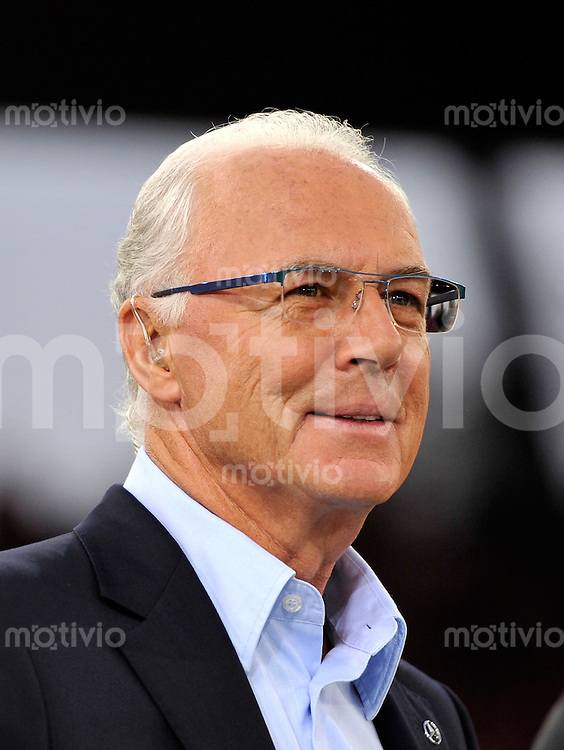FUSSBALL   CHAMPIONS LEAGUE   SAISON 2011/2012  Qualifikation  23.08.2011 FC Zuerich - FC Bayern Muenchen Franz Beckenbauer  (FC Bayern Muenchen)