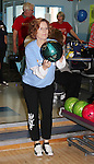 Liz Keifer bowls - host at 13th Annual Daytime Stars and Strikes Bowling for Autism on April 23, 2016 at Bowler City Lanes in Hackensack, NJ. (Photo by Sue Coflin/Max Photos)