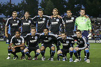 San Jose Earthquakes Starting Eleven. San Jose Earthquakes defeated Houston Dynamo 3-2 at Buck Shaw Stadium in Santa Clara, California on March 28th, 2009.