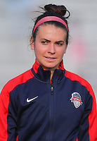 Boyds, MD - Saturday July 09, 2016: Cali Farquharson prior to a regular season National Women's Soccer League (NWSL) match between the Washington Spirit and the Chicago Red Stars at Maureen Hendricks Field, Maryland SoccerPlex.