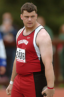 31 March 2006: Mark Shughart during Stanford's Track & Field Invitational at Cobb Track & Angell Field in Stanford, CA.