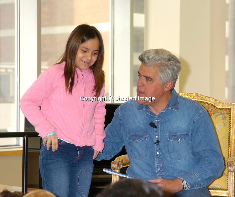"Jay Leno ..reading and signing his new children's book "" If Roast Beef Could Fly""  at Barnes and Nobles Lincoln Triangle on March 26, 2004.                                                                     Photo By Robin Platzer, Twin Images"