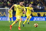 Víctor Ruiz Torre of Villarreal CF in action during their La Liga match between Villarreal CF and Real Madrid at the Estadio de la Cerámica on 26 February 2017 in Villarreal, Spain. Photo by Maria Jose Segovia Carmona / Power Sport Images
