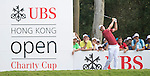 Justin Rose of England hits the ball during Hong Kong Open golf tournament at the Fanling golf course on 25 October 2015 in Hong Kong, China. Photo by Aitor Alcade / Power Sport Images