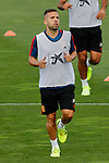 Jordi Alba during the Trainee Session at Ciudad del Futbol in Las Rozas, Spain. September 02, 2019. (ALTERPHOTOS/A. Perez Meca)