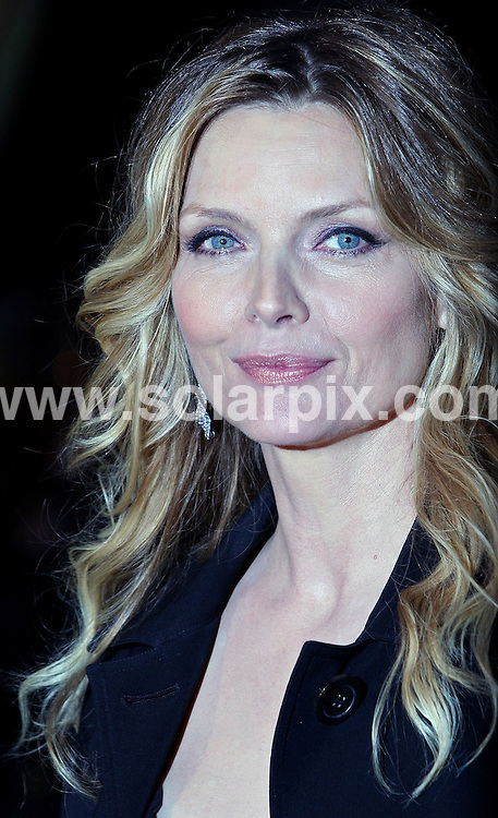 **ALL ROUND PICTURES FROM SOLARPIX.COM**.**WORLDWIDE SYNDICATION RIGHTS**.arrivals at the 'Stardust' film premiere at the Odeon Leicester Square, London, UK - 03 Oct 2007..This pic: Michelle Pfieffer .JOB REF:  4947  SSD        DATE: 03_10_2007.**MUST CREDIT SOLARPIX.COM OR DOUBLE FEE WILL BE CHARGED* *UNDER NO CIRCUMSTANCES IS THIS IMAGE TO BE REPRODUCED FOR ANY ONLINE EDITION WITHOUT PRIOR PERMISSION*