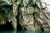 PHILIPPINES, Palawan, Sabang, the entrance to the Underground River